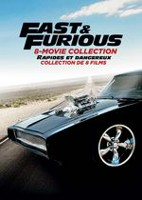 Fast & Furious: 8 Movie Collection (Bilingual)