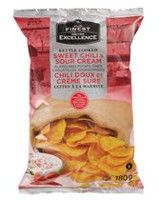 Our Finest Kettle Cooked Sweet Chili & Sour Cream Flavoured Potato Chips