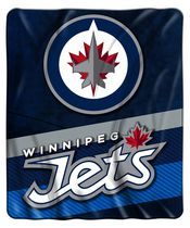 The Northwest Couverture super peluche en micro raschel LNH Winnipeg Jets