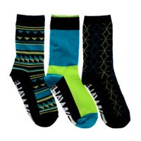 Tony Hawk Boys' 3-Pack Crew Socks 11-2