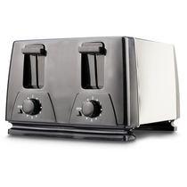 Brentwood 4-Slice Toaster, Black