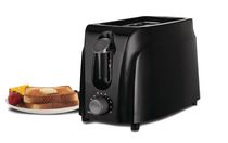 Brentwood Cool Touch 2-Slice Toaster, Black