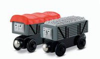 Fisher-Price Thomas & Friends Wooden Railway Giggling Troublesome Trucks