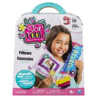 Sew Cool Fabric Fringe Pillows Kit