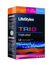 Condoms- LifeStyles Trio 12's