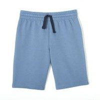 George Boys' French Terry Short Bleu M