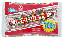 Rouleaux de bonbons Rockets