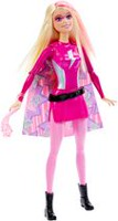 Barbie Power Super Hero Doll - Pink