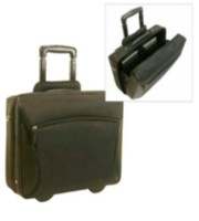 Bond Street Black Stay-Open Rolling Computer Business Briefcase, 746027BLK
