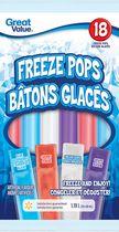 Great Value Freeze Pops Candies