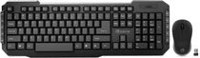 Borne Wireless Multimedia Black Keyboard and Mouse Combo