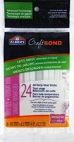 Elmers-CraftBond All Temp Less Mess Mini Glue Sticks.
