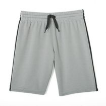 Athletic Works Boys' Mesh Short Gray L/G