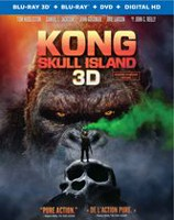 Kong: Skull Island (Blu-ray 3D + Blu-ray + DVD + Digital HD) (Bilingual)