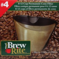 Filtre conique no. 4 permanent pour 8 à 12 tasses Brew Rite