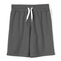 Athletic Works Boys' Mesh Shorts Black M