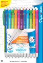 Paper Mate Write Bros. Mechanical Pencils, 30-Pack