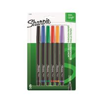 Sharpie Pen, Assorted, 6pk