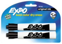 Expo Original Dry Erase Markers, 2-Pack