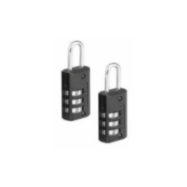 Set-your-own Luggage Padlock 2pk
