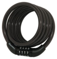 4' Fixed Combination Cable Lock