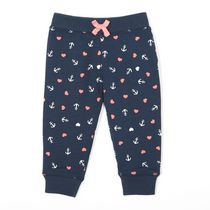George Toddler Girls' French Terry Jogger Navy 3T