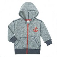 George baby Boys™ French Terry Hoody Navy 12-18 months