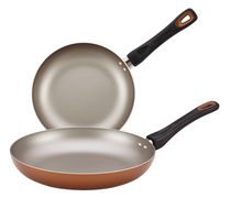 "Farberware 8"" and 10"" Non-Stick Skillet Twin Pack"