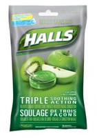 Halls Triple Soothing Action Cough Suppresant Tablets