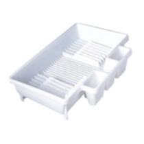 Rubbermaid Large White Dish Drainer