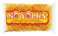 No Yolks Extra Broad Cholesterol-Free Egg White Pasta