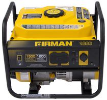 Firman Power Equipment P01202 Gas Powered 1500/1200 Watt (Performance Series) Extended Run Time Portable Generator