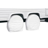 "Classic Accessories RV Wheel Covers, Fits 24"" - 26.5"" wheel Diameter"