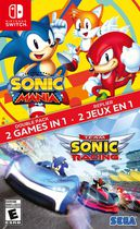 Jeu vidéo Sonic Mania / Team Sonic Racing Double Pack pour (Nintendo Switch)