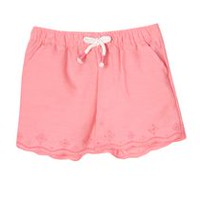 George Toddler Girls' Scalloped Hem Shorts 2T