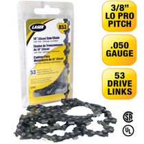 LASER Saw Chain 3/8LP-050 53 Drive Links