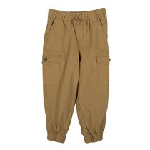 George Toddler Boys' Cotton Cargo Pant Brown 3T