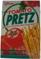 Tomato Pretz Biscuit Sticks