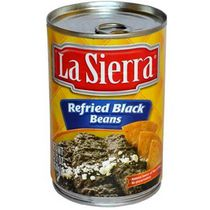 La Sierra Refried Black Beans