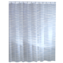 Oasis PEVA shower curtain