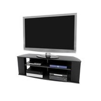 Prepac Essentials 60-inch Black TV Stand