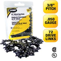 LASER Saw Chain 3/8-050 72 Drive Links