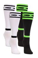 Mitre Pee Wee Soccer Neon Green/Neon Orange 2-Pack Socks