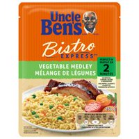 Uncle Bens BISTRO EXPRESS® Vegetable Medley Rice