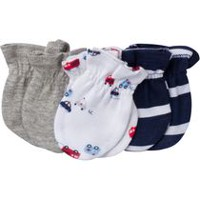 Gerber Newborn Boys' mittens – pack of 3 Navy