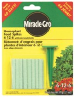 Miracle-Gro Househplant Spikes