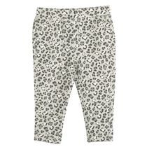 George Baby Girls' Twill Knit Jegging Gray 12-18 months