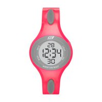 Skechers Women's Polliwog Pink Digital Watch