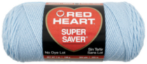 Red Heart Supersaver Blue