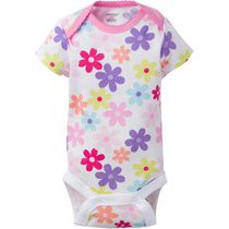 Onesies® Brand Newborn Girls' Fashion Short Sleeve Bodysuits Multi Coloured 0-3 months
